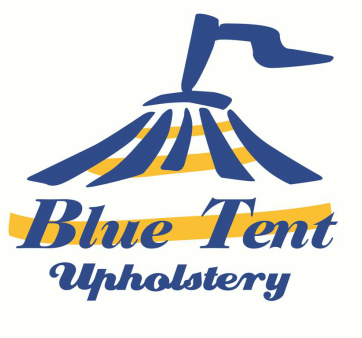 Blue Tent Upholstery